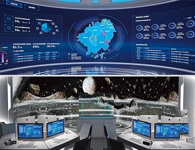 超高分辨率3D交互顯示系統