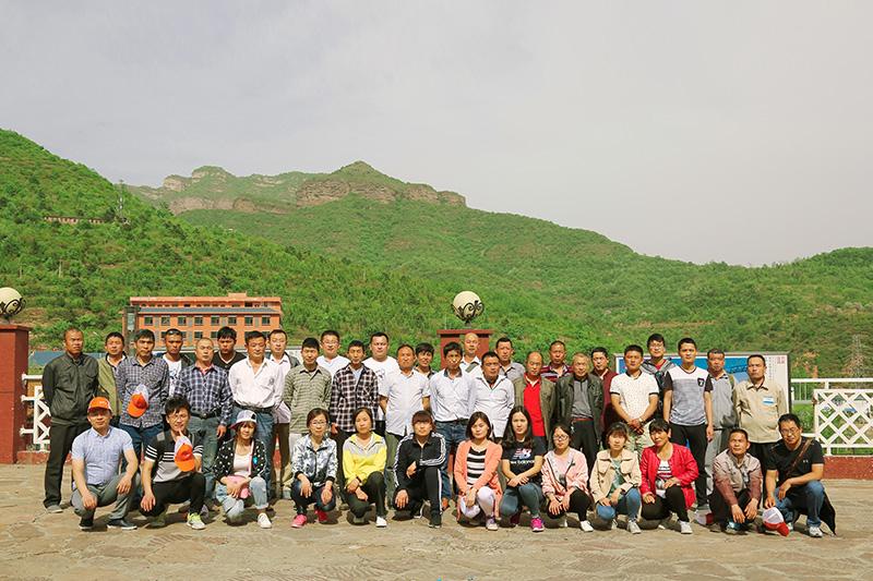 河北京娘湖內部員工旅游