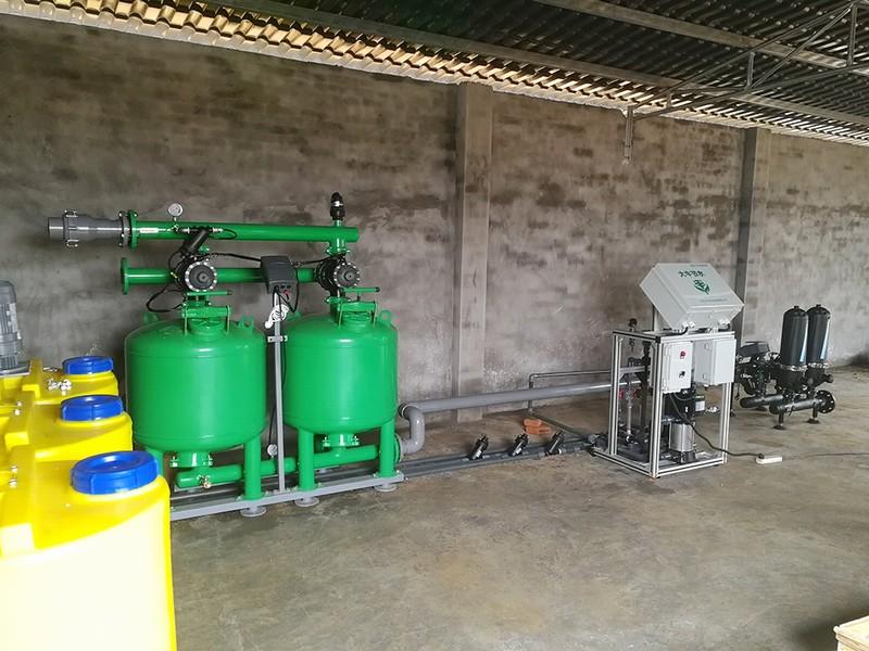 重慶市潼南區(880畝)愛媛38自動化滴灌水肥一體管理項目