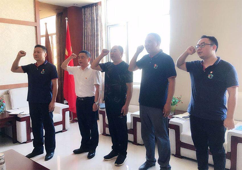 黨建 | 益通建設黨委委員劉鵬帶隊到鵬程新材料黨支部調研