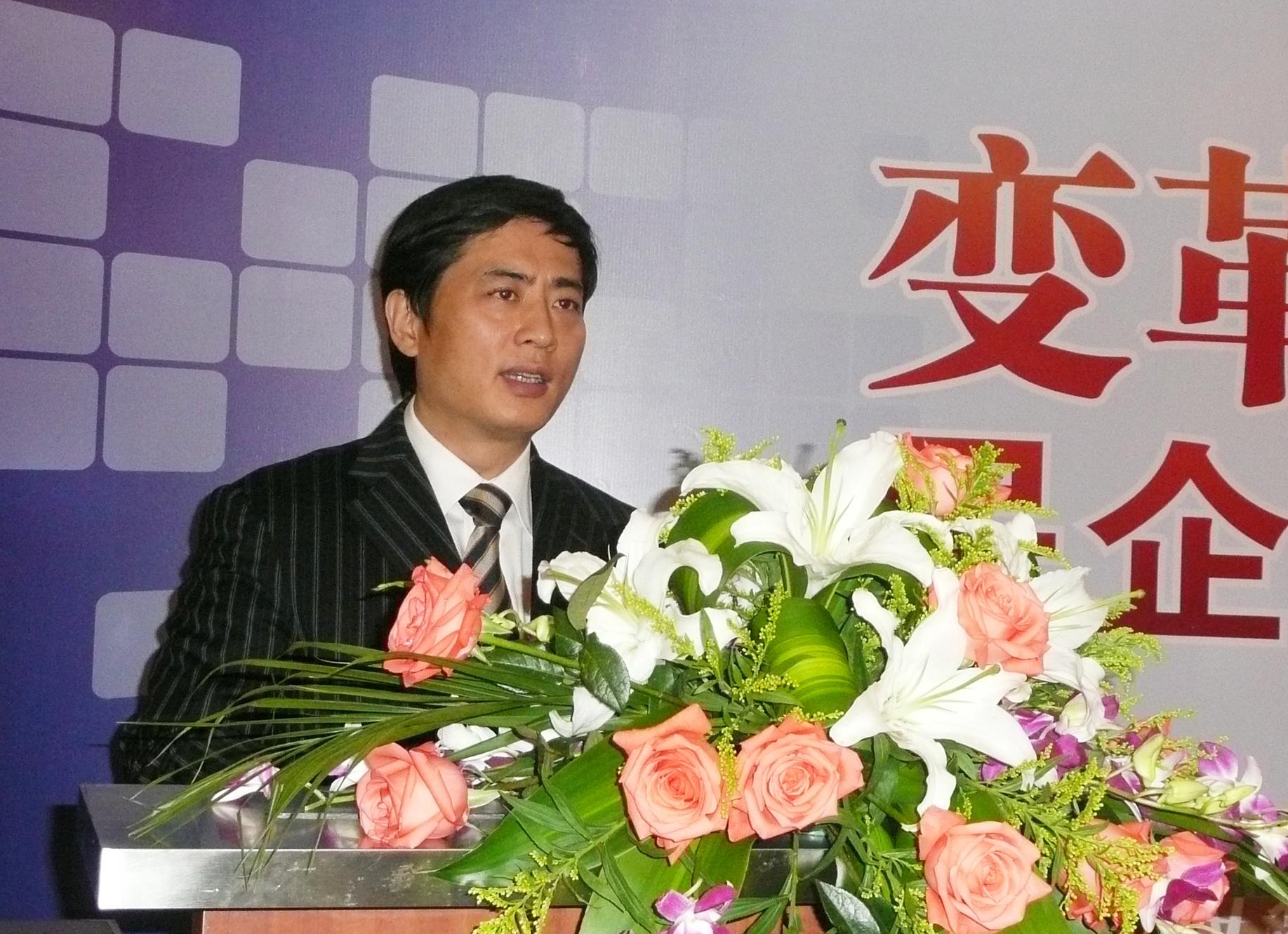 2009年陳斌總裁在清華大學做演講