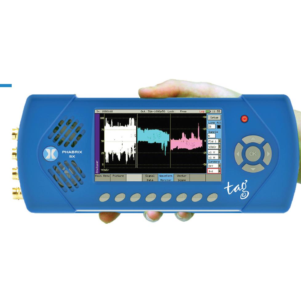 手持式SDI分析儀