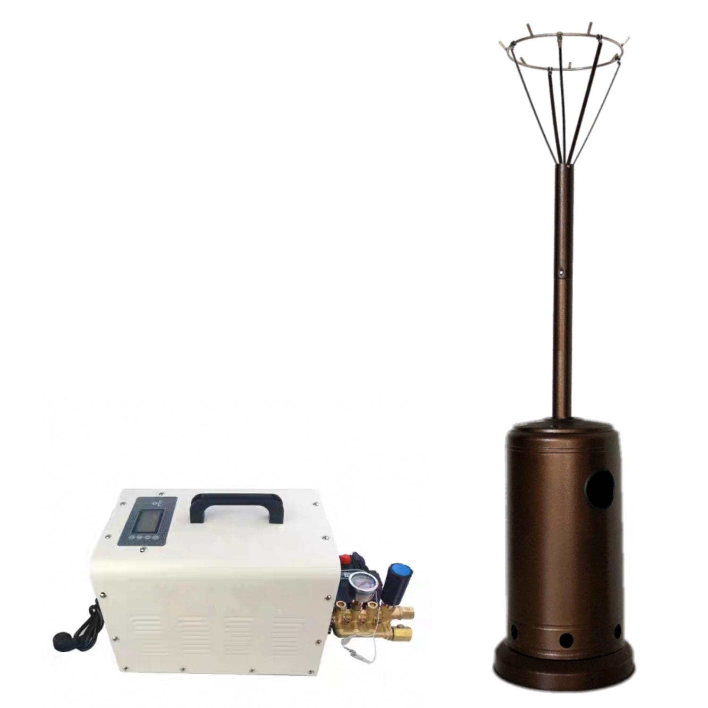 無水箱小型便攜式降溫系統