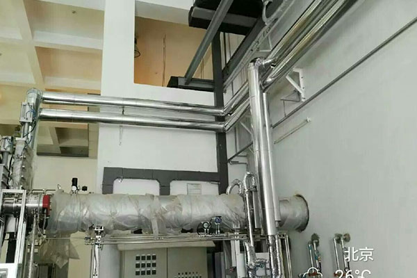 中國航天運載火箭技術研究院 液氮管道保冷