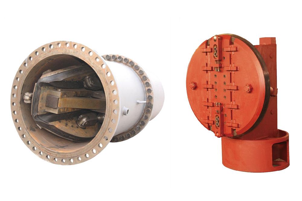 ZYFD500-2000液壓折疊式封堵