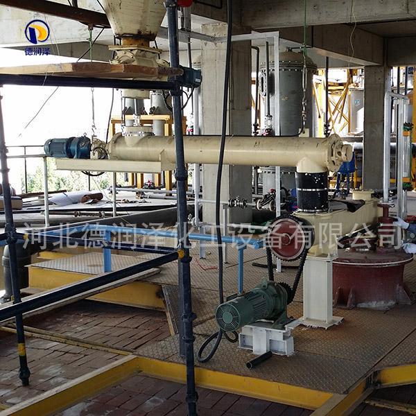 硫酸鉀生產設備現場