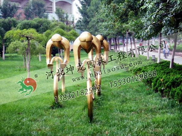 體育不銹鋼雕塑022