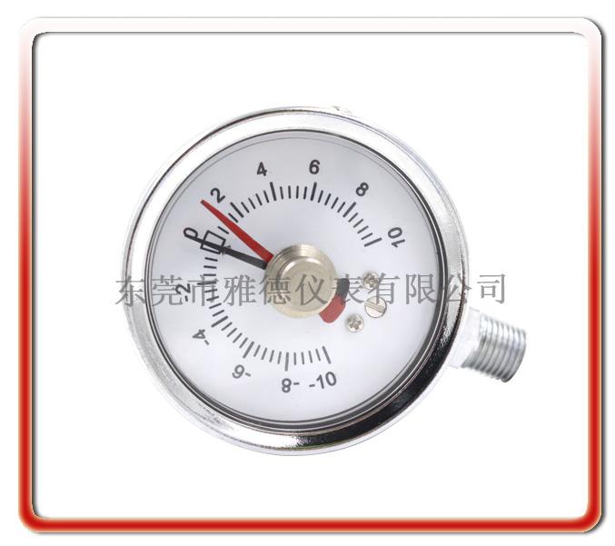60MM徑向帶記憶針微壓表