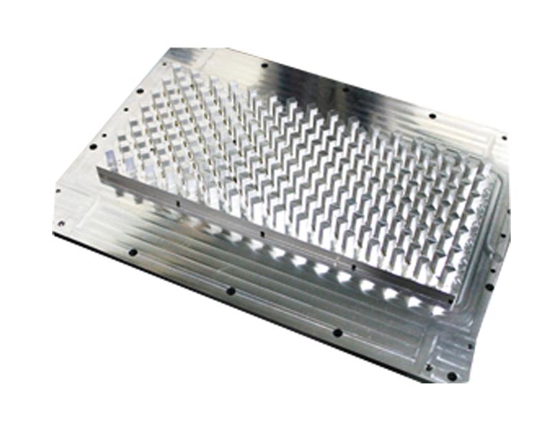 高速零件加工中心機加工樣品