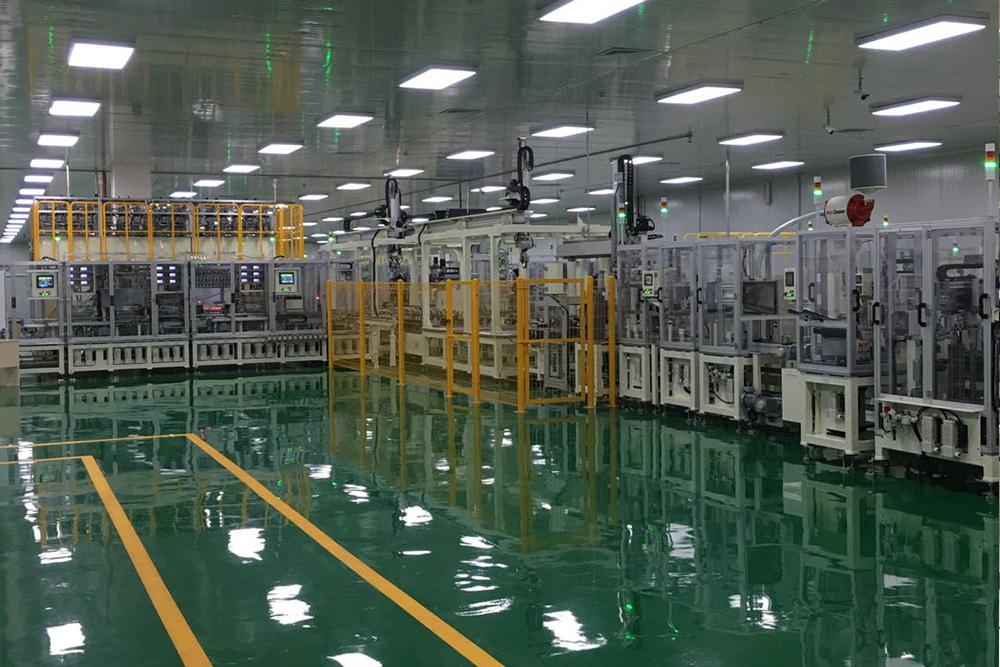 機械組件自動組裝線