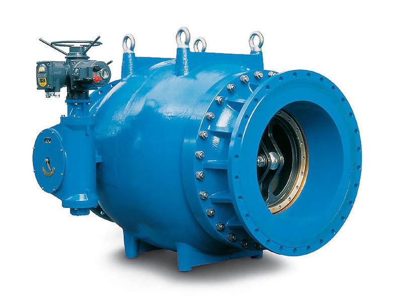 天然氣凈化站軸流式調節閥