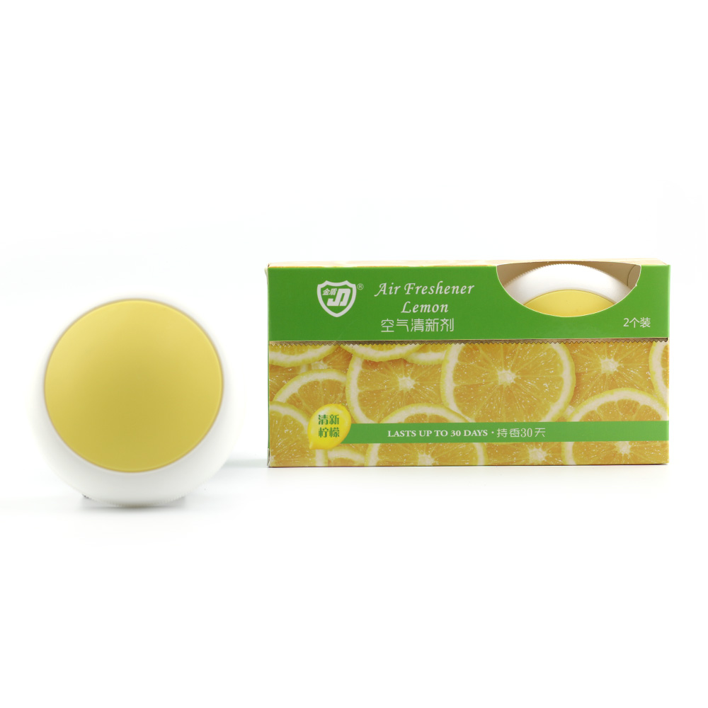 金盾飛碟固體清香劑2個裝*30g (檸檬)
