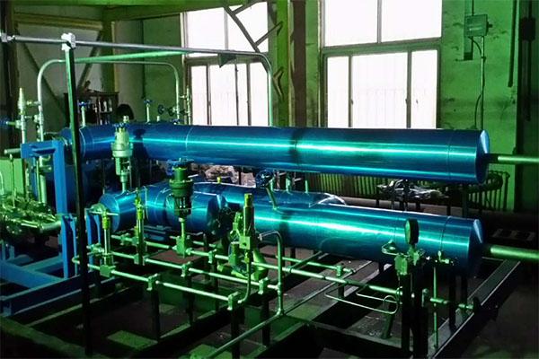 LNG低溫柱塞泵撬管道保冷