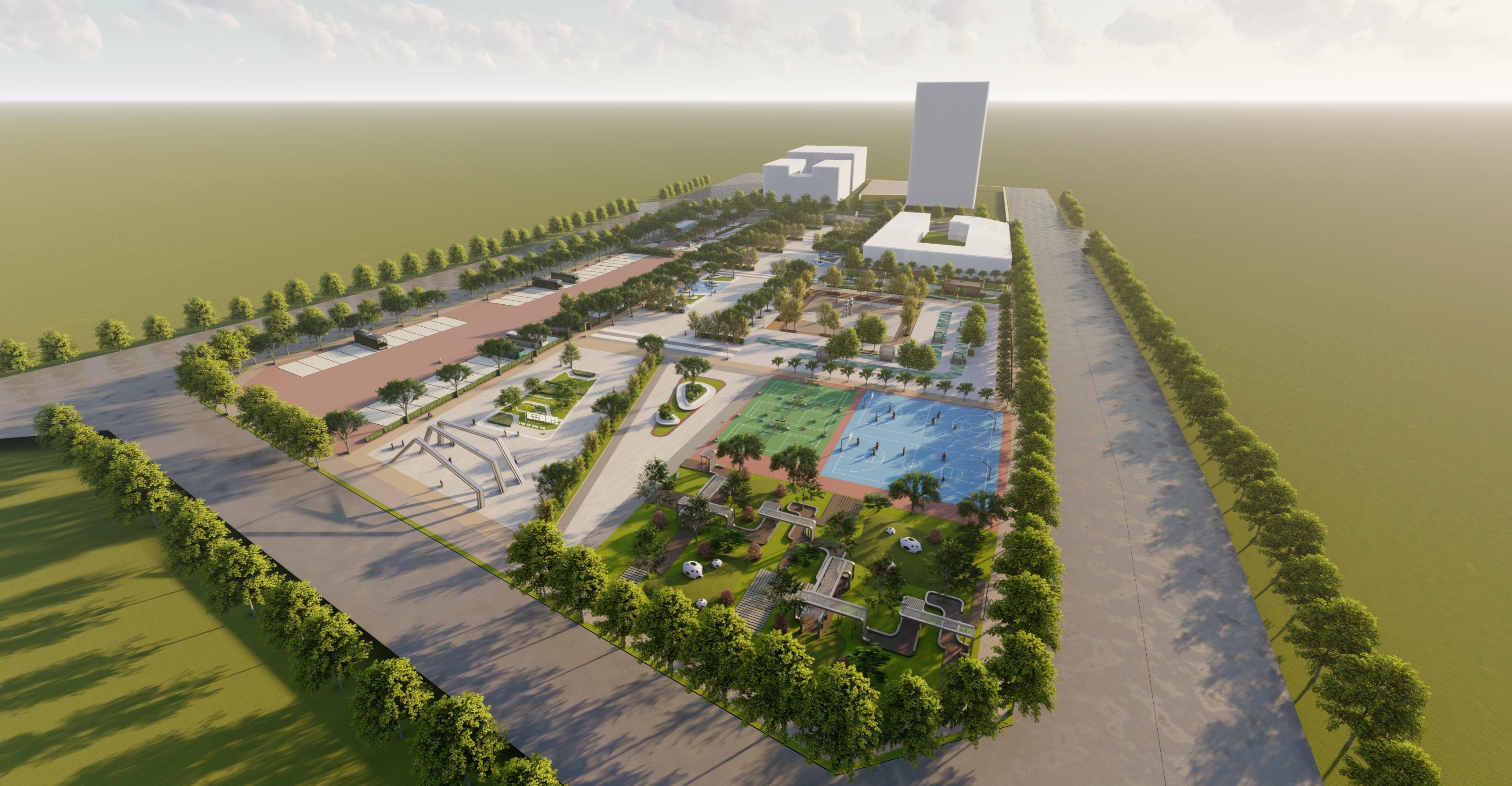 延安高新區街景整治及重要節點規劃設計