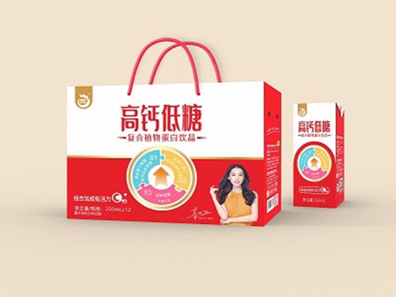 澳利龙高钙低糖复合植物蛋白饮品250ml*12瓶
