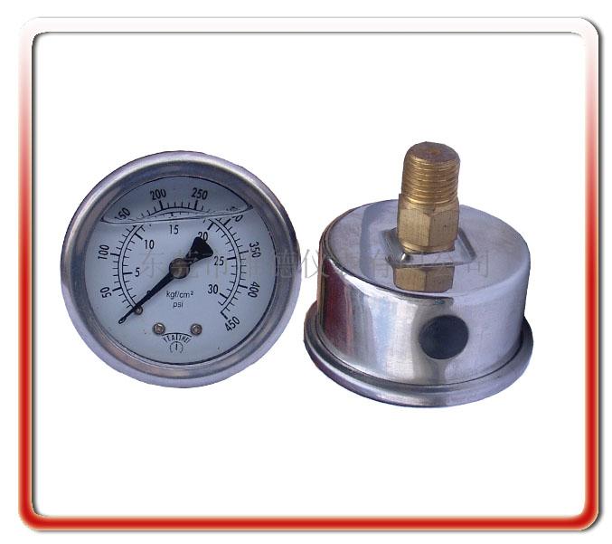 40MM軸向油壓表