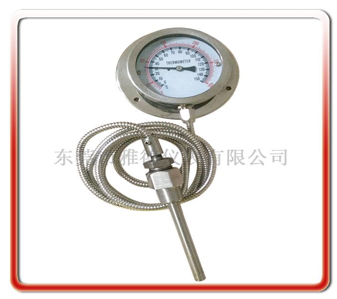 75MM徑向全鋼壓力式溫度計