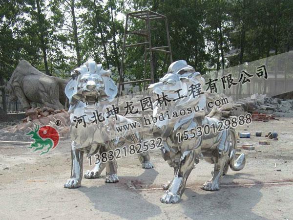 動物不銹鋼雕塑040
