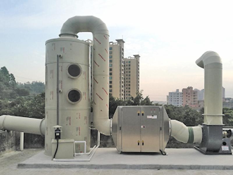 PP喷淋塔(湿式除尘器)