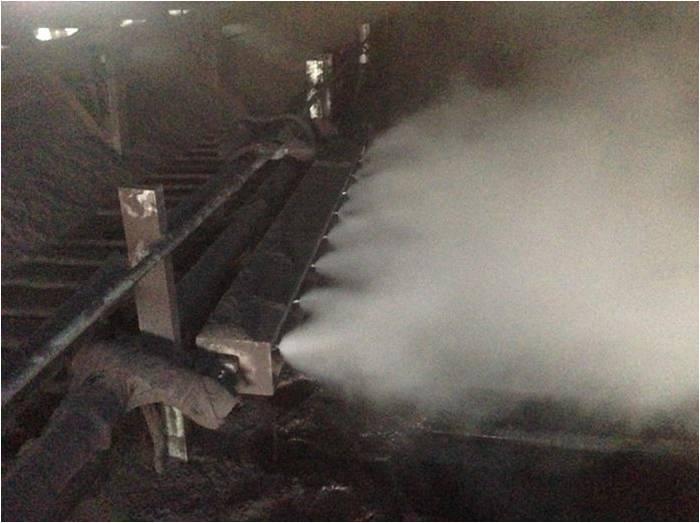 空气雾化喷嘴与干雾抑尘技术应用
