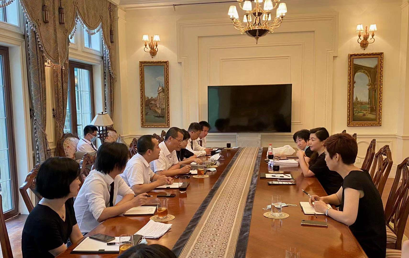 大陸希望集團常務副總裁劉海燕赴湖山春曉項目調研指導