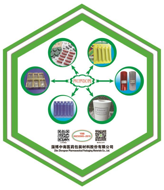 PVC/PVDC/PE 復合藥用硬片