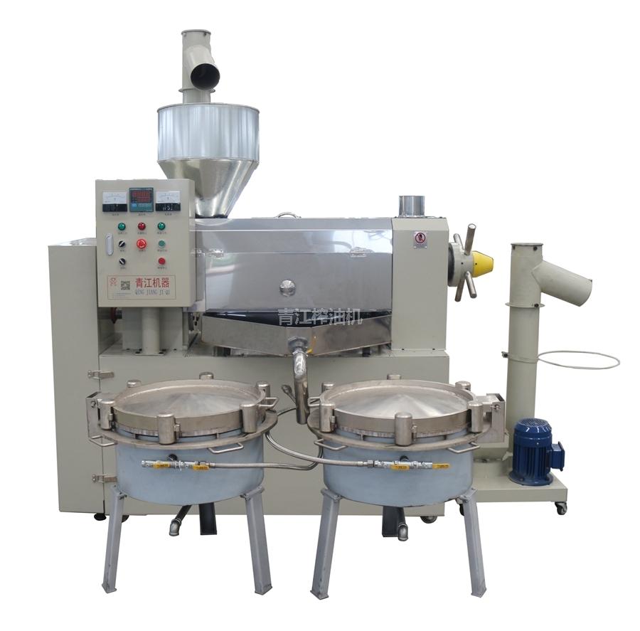 電加熱濾油組合榨油機