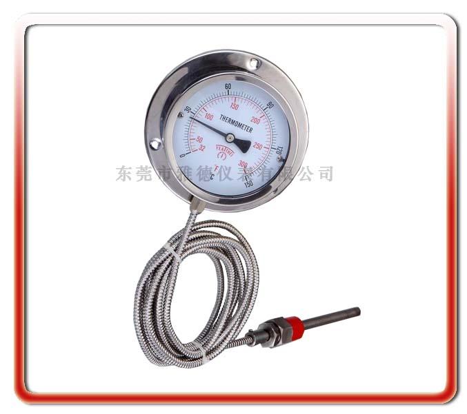 100MM徑向全鋼壓力式溫度計