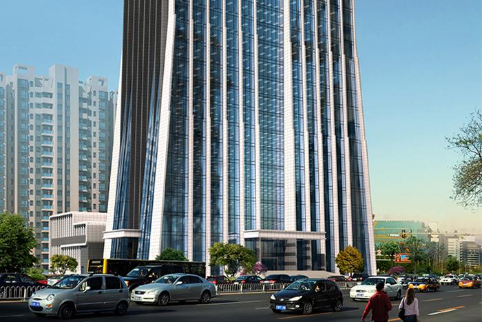 邵陽市總工會幫扶中心辦公樓及電影院