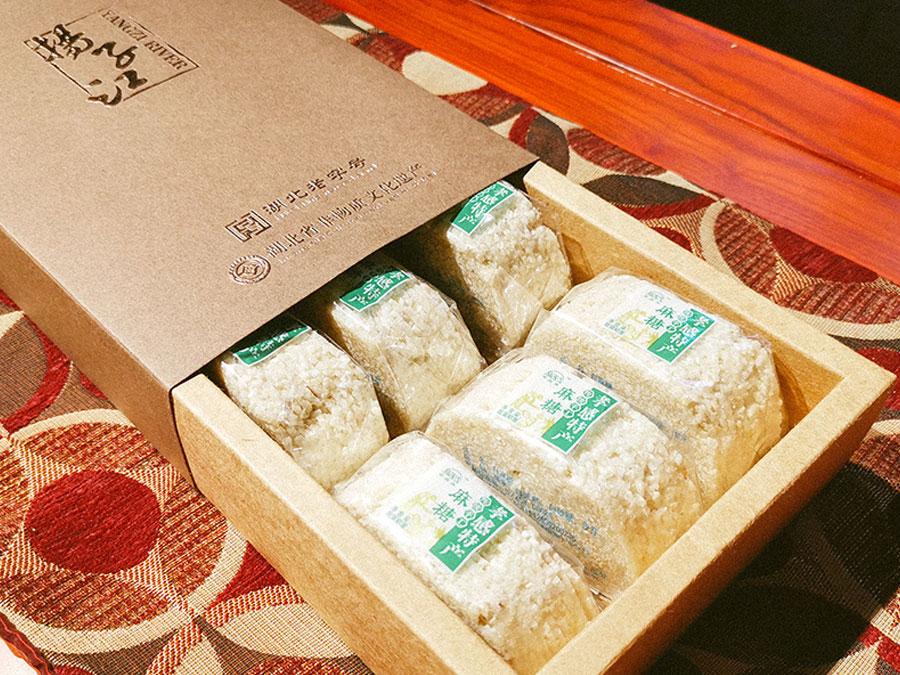 麻糖牛皮紙禮盒
