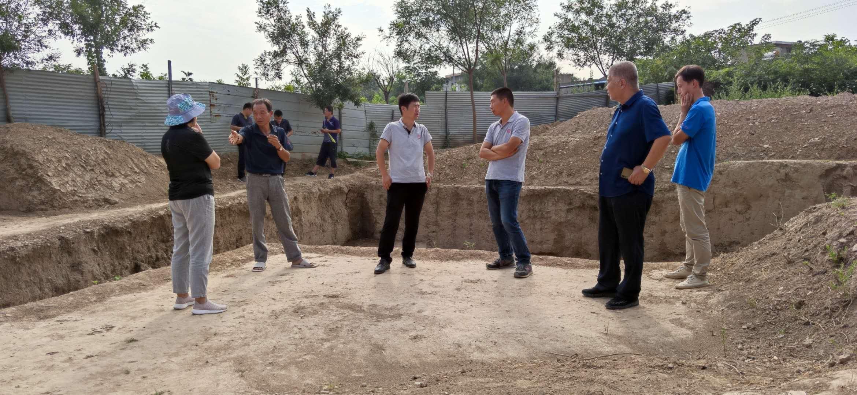 2020年9月11日專家驗收組王小蒙、楊利平、于春雷等成員對銀溝遺址項目進行驗收,此項目通過驗收。