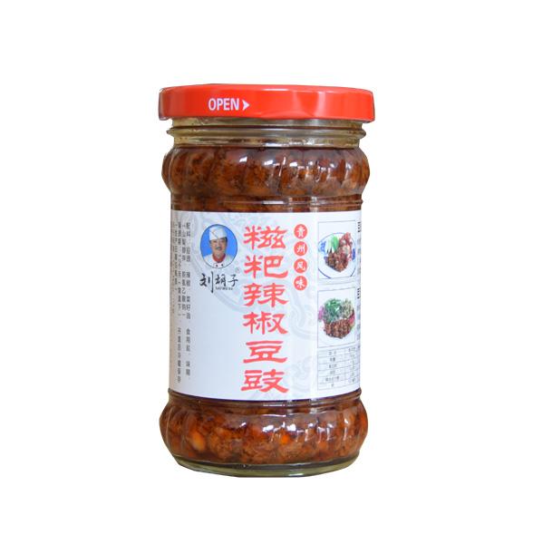 糍粑辣椒豆豉