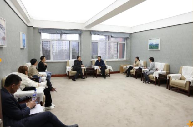 中國外文局領導蒞臨我校調研指導工作