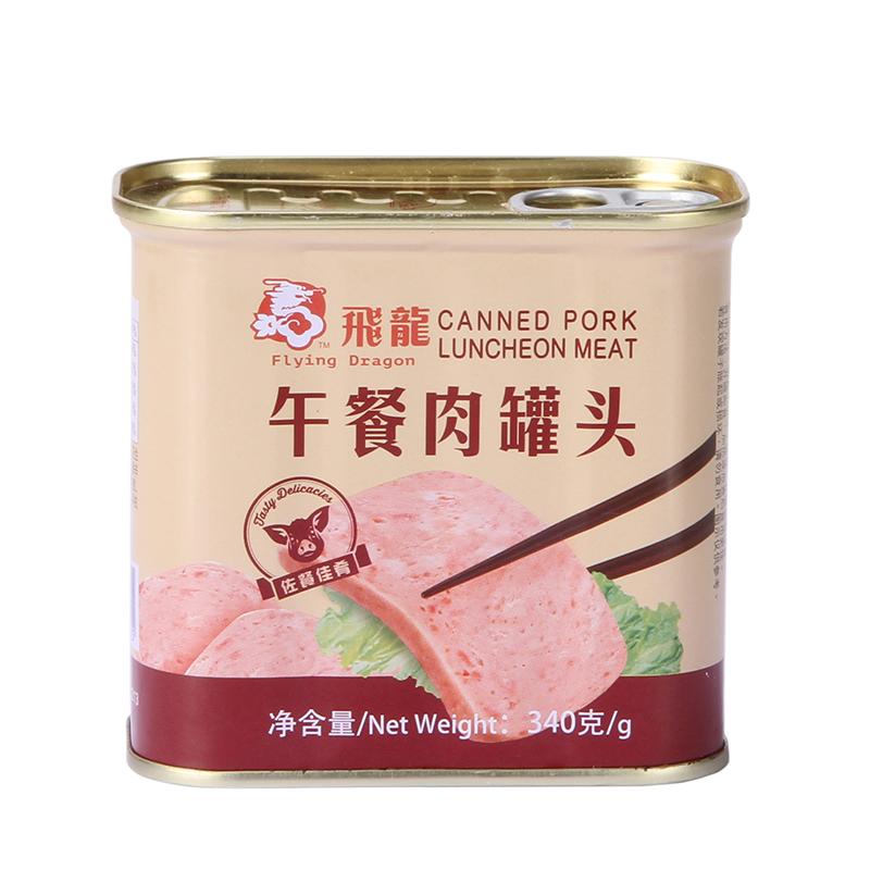 飞龙牌午餐肉罐头340克