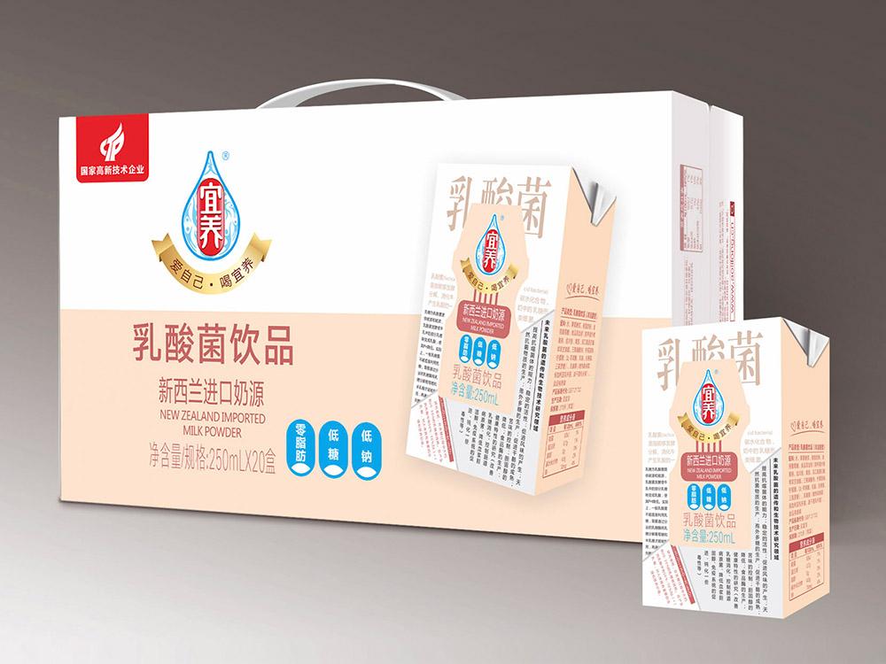 宜養經典三低乳酸菌250ml*20瓶