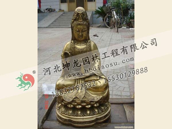 佛像銅雕010