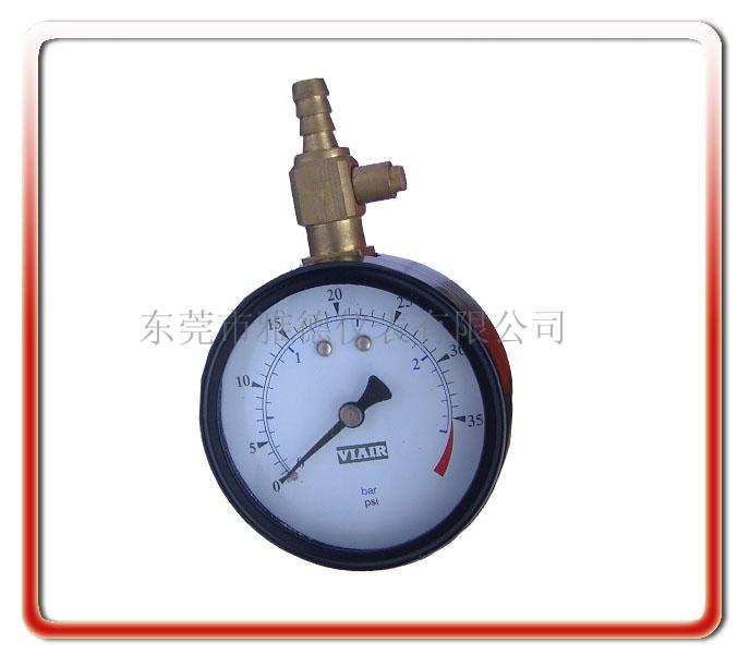 60MM徑向氣泵壓力表
