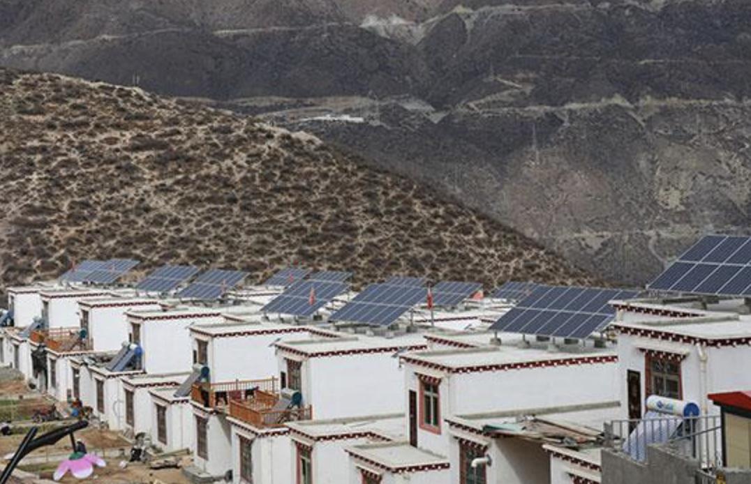 洮南市65個貧困村村級分布式光伏扶貧電站項目