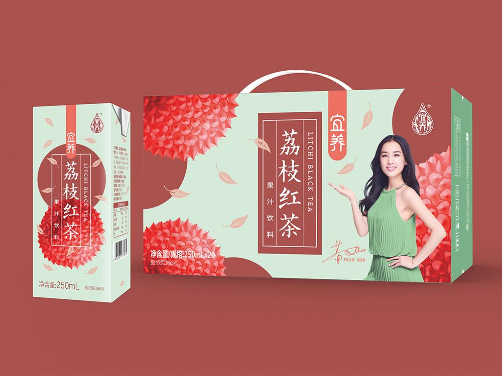 宜養荔枝紅茶250ml*20瓶