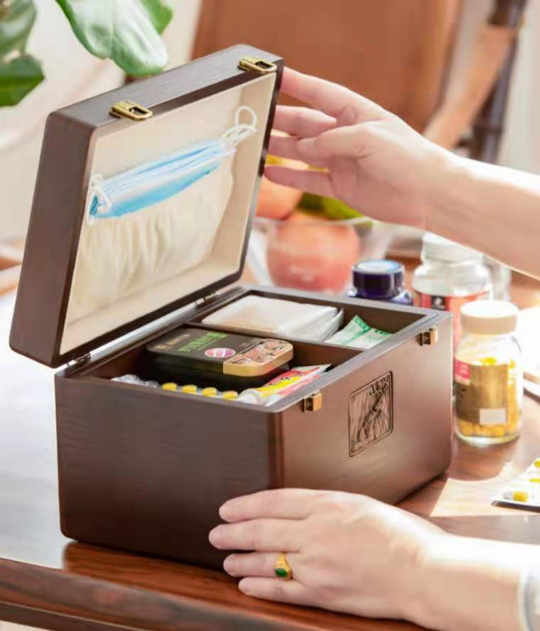 這款木質醫藥箱讓你一秒找到對的藥品!
