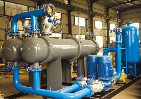 換熱器廠家:換熱機組出現噪音的解決方法