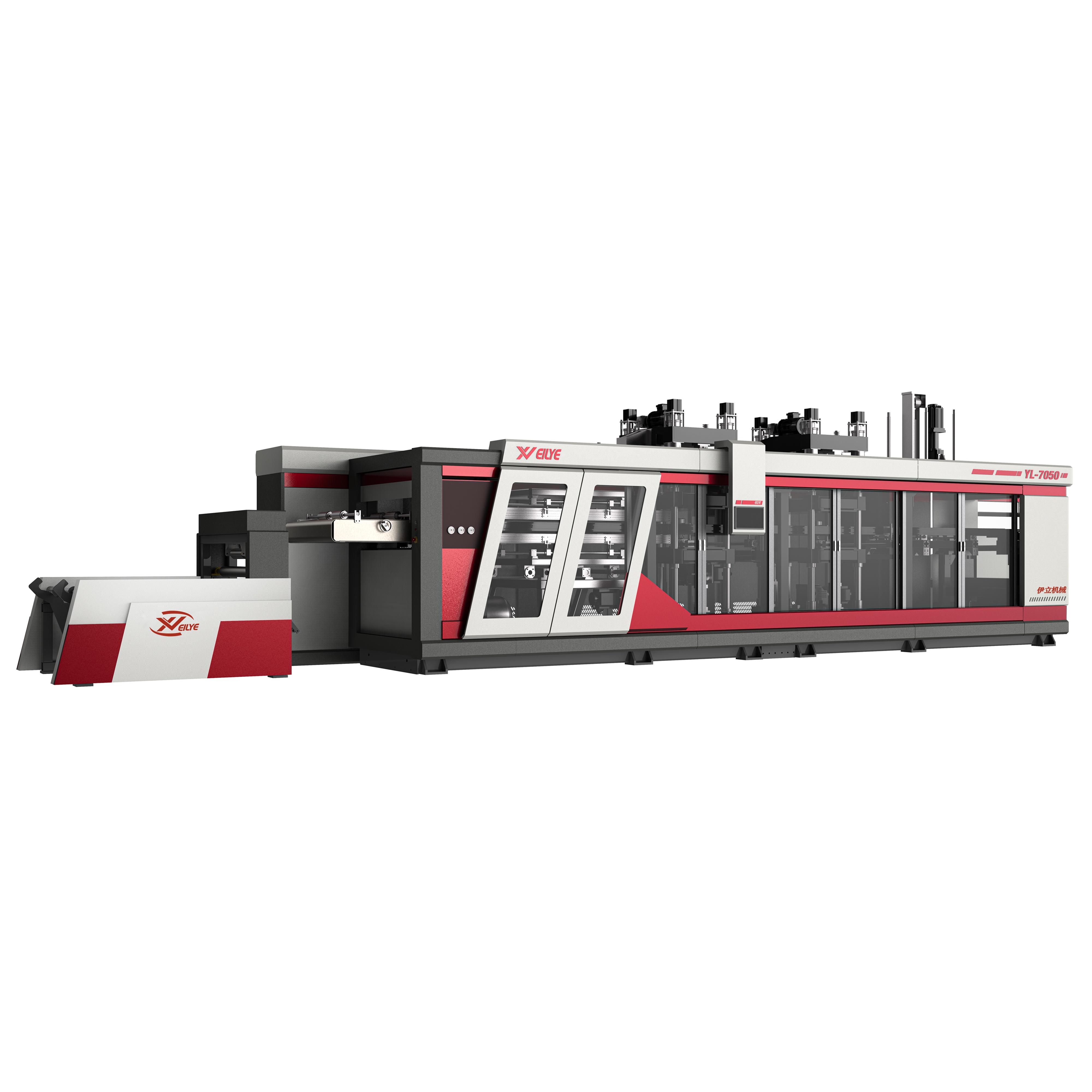 YL7050-三工位熱成型機