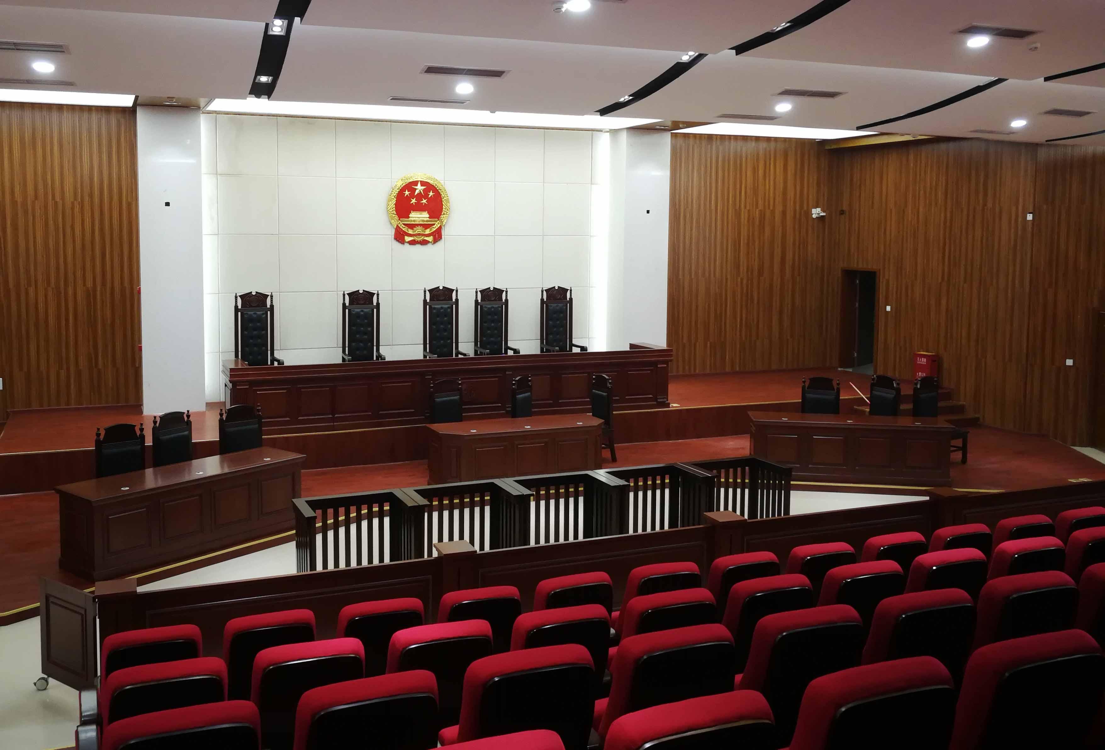 我司承建的巴中市通江縣人民法院審判法庭項目 順利通過竣工驗收