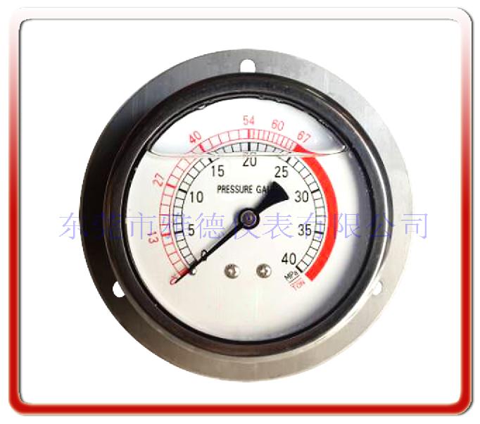 數控折彎機專用壓力表