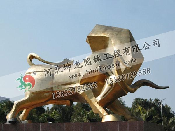 動物銅雕027