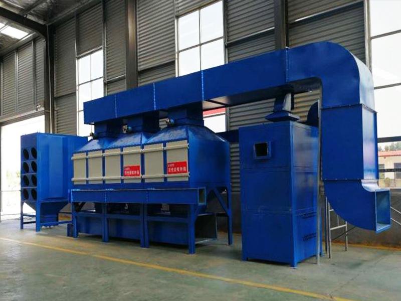 某集團一期、二期熔鋁爐VOCs治理工程項目