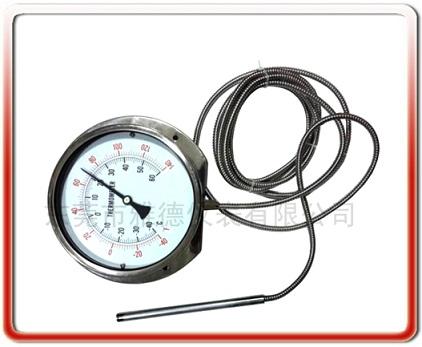150MM徑向全鋼壓力式溫度計