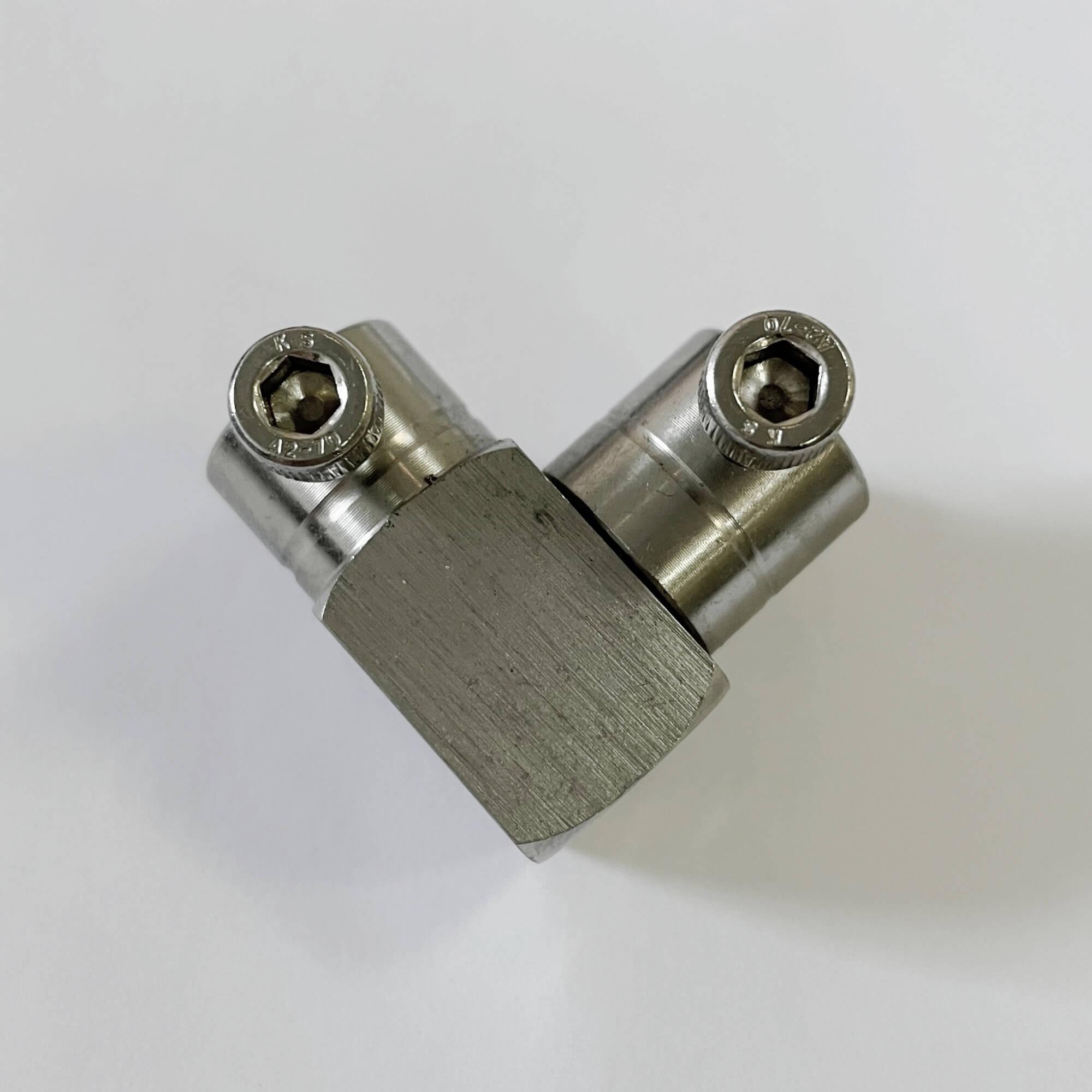頂針式不銹鋼直角彎頭