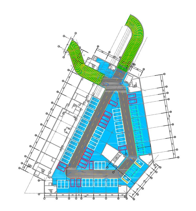 延安新區保障性住房地下車庫裝修項目設計