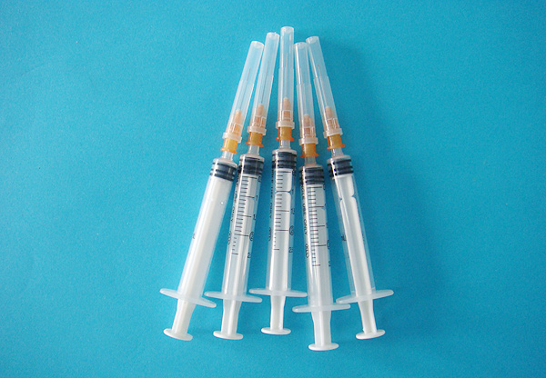 一次性使用無菌注射器 帶針2ml